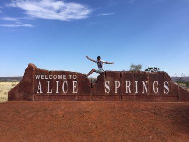 有給インターンシップ♪ Alice Springs(P.Jさん)