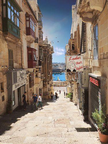 マルタの美しい街並み