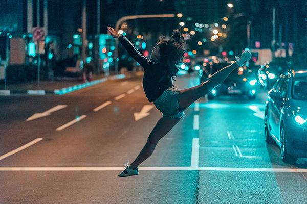 流行の最先端、アートの発信地ニューヨークでダンス留学!