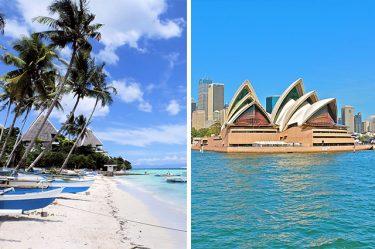 メリットが違う!フィリピン親子留学vsオーストラリア親子留学