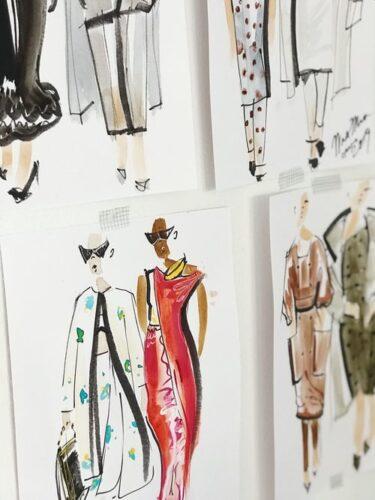 1年のファッションデザインコースで世界へ羽ばたこう!!
